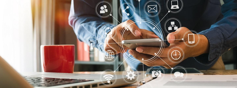 Digitalt affärssystem topp