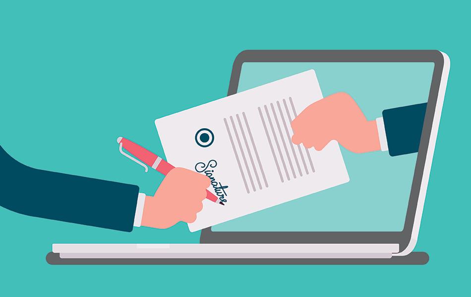 Signera och lämna årsredovisningen digitalt – så funkar det!